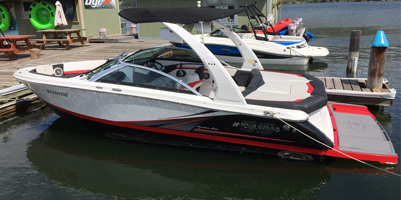 Four Winns 22' Bow Rider / Speed Boat Rental available in